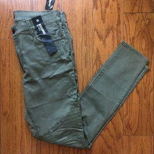 •Express• Moto hi-rise skinny jean pants (NWT)